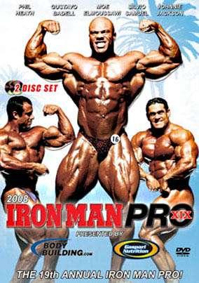 2008 Iron Man Pro (DVD)