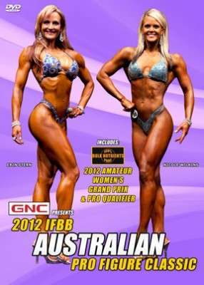 2012 Australian Pro Figure Classic (DVD)