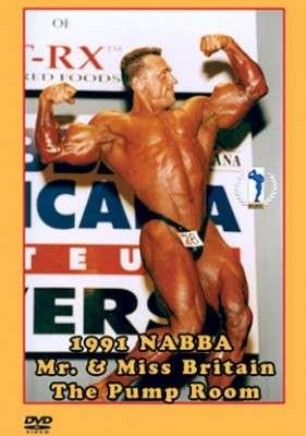 1991 NABBA Mr. & Miss Britain - Pump Room (DVD)