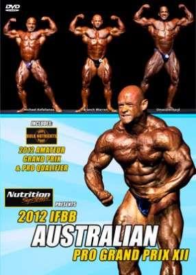2012 IFBB Australian Pro Grand Prix DVD