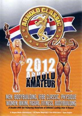 2012 Arnold Amateur DVD