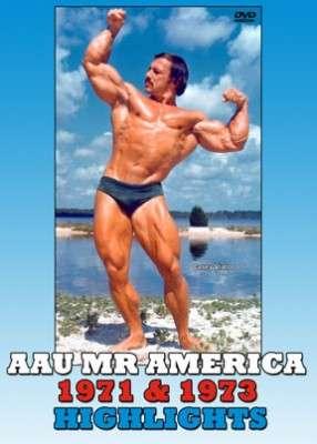 AAU Mr. America 1971 & 1973