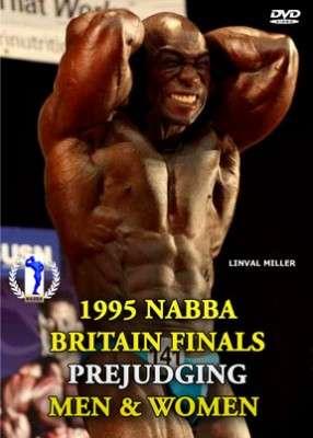 1995 NABBA Britain Finals Prejudging DVD
