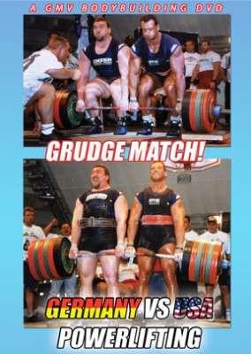 Grudge Match: Germany Vs U.S.A. Powerlifting (Digital Download)