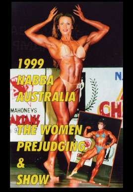 1999 NABBA Australia - The Women (Digital Download)