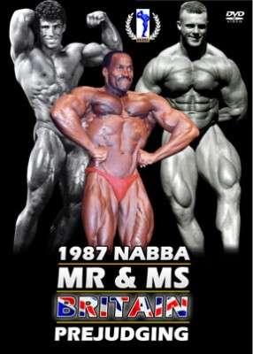 1987 NABBA Britain - Prejudging (DVD)