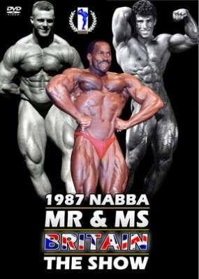 1987 NABBA Britain - Show (DVD)
