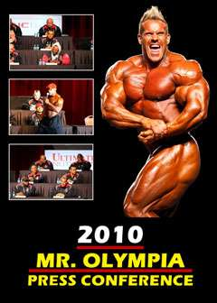 2010 Mr. Olympia Press Conference (DVD)