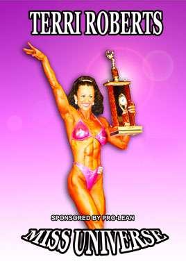 Terri Roberts Miss Universe Figure (Digital Download)