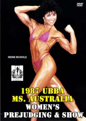 1987 UBBA Ms. Australia DVD