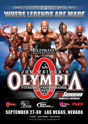2012 Mr. Olympia DVD