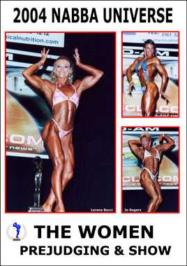 2004 NABBA Universe: The Women - Prejudging and Show (Digital Download)