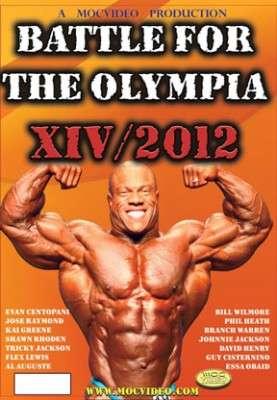 2012 Battle Olympia DVD set