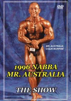 1996 NABBA Mr. Australia - Show DVD