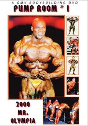2000 Mr. Olympia Pump Room # 1 DVD