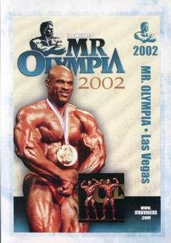 2002 Mr. Olympia DVD