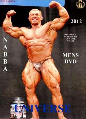 2012 NABBA Mr. Universe Show DVD