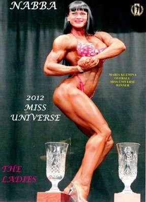 2012 NABBA Universe Women download