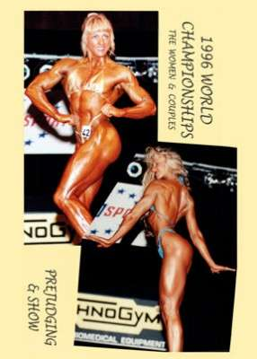 1996 NABBA World Championships: Women & Couples - Prejudging & Show (Digital Download)