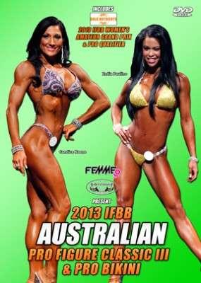 2013 IFBB Australian Pro Figure Classic & Pro Bikini & Amateur Women's Grand Prix (DVD)