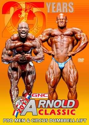 2013 Arnold Classic Pro Men - DVD