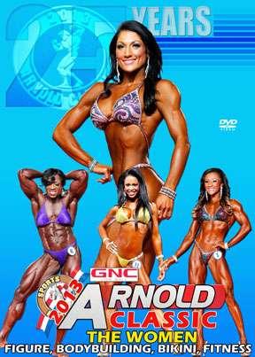 2013 Arnold Classic - Women DVD