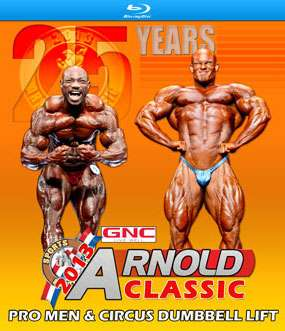 2013 Arnold Classic USA on Blu-Ray