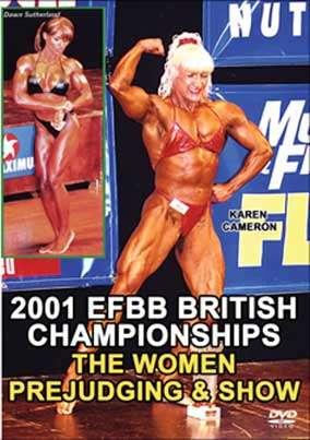 2001 EFBB British Championships Women DVD