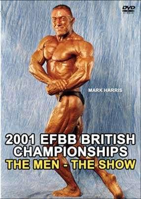 2001 EFBB Britain - Men Show DVD