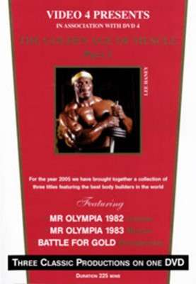 "The Golden Age Of Muscle: Part 1 1982/83 Mr Olympias  plus  ""Battle for Gold"" (DVD)"