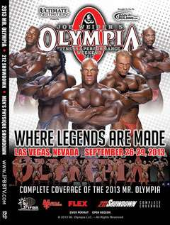 2013 Mr. Olympia DVD