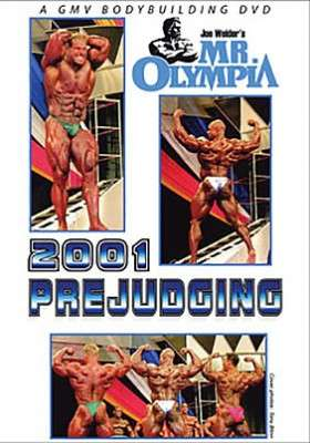 2001 Mr. Olympia Prejudging DVD
