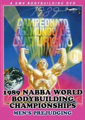 1989 NABBA Worlds: Men's Prejudging