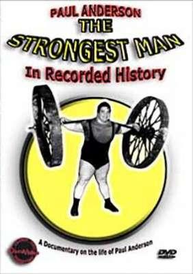 Paul Anderson Strongest Man