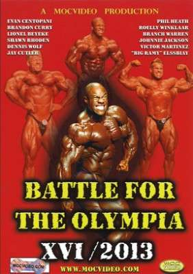 Battle for the Olympia 2013 DVD