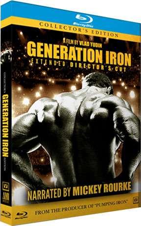 Generation Iron Blu-Ray