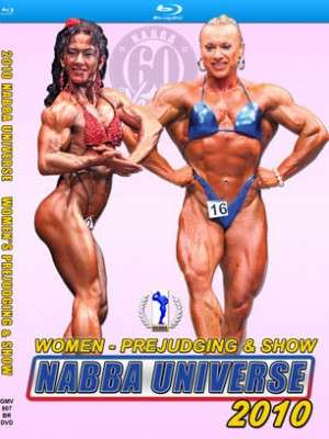 2010 NABBA Universe – Women (Blu-ray DVD)