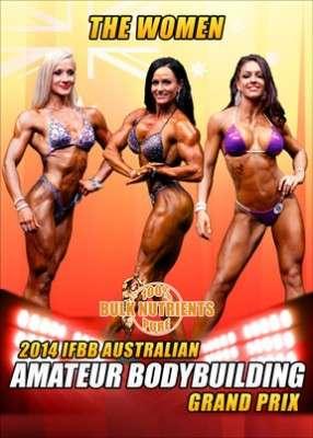 2014 IFBB Australian Amateur Grand Prix Women DVD