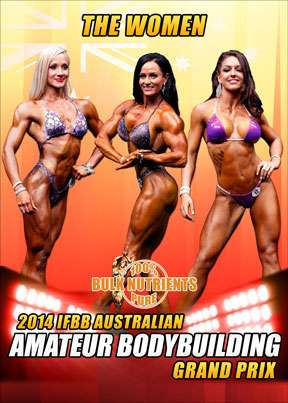 2014 IFBB Australian Amateur Grand Prix Women DVD