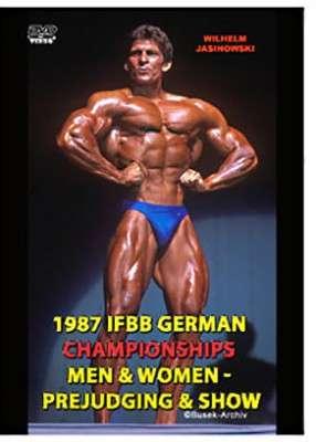 1987 IFBB German Championships DVD