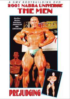 2001 NABBA Mr. Universe - Prejudging