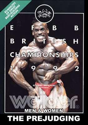 1992 EFBB British Championships