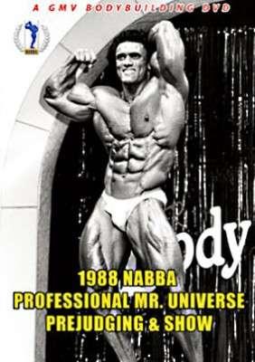 1988 NABBA Pro Mr. Universe