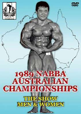 1989 NABBA Australian Championships - show DVD