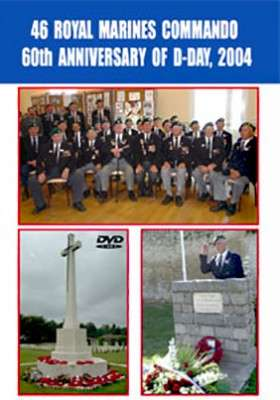 46th Royal Marines Commando 60th Anniversary of D-Day 2004