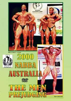 2000 NABBA Australia Men's Prejudging