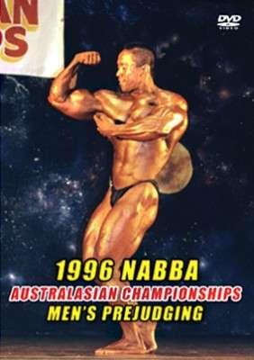 1996 NABBA Australasia - Men's Prejudging DVD