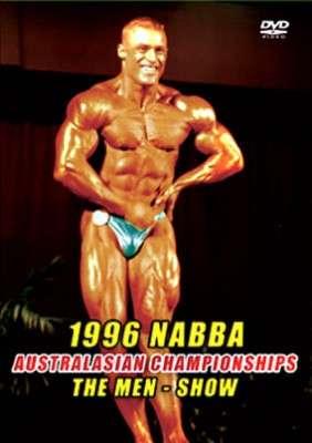 1996 NABBA Australasia Men's Show DVD
