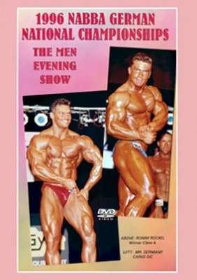 1996 NABBA German Championships