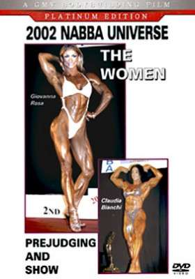 2002 NABBA Universe Women DVD